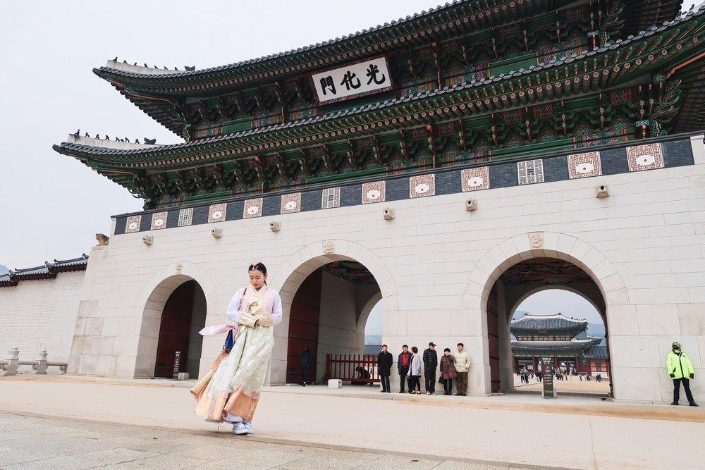 Cung điện Hoàng Gia Hàn Quốc- một điểm du lịch nổi tiếng