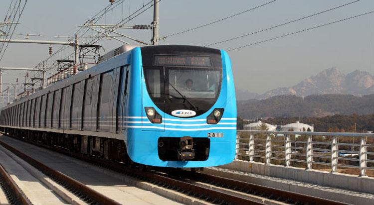 Tàu Arex Incheon Express có chỗ ngồi thoải mái và khoang để hành lý rộng rãi