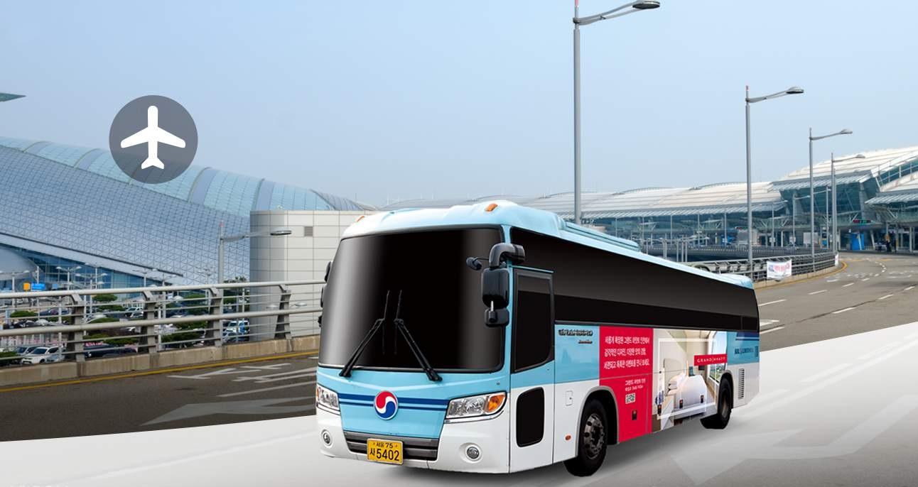 KAL Limousine Bus là phương tiện di chuyển khá thuận tiện để đi từ sân bay Incheon về trung tâm Seoul