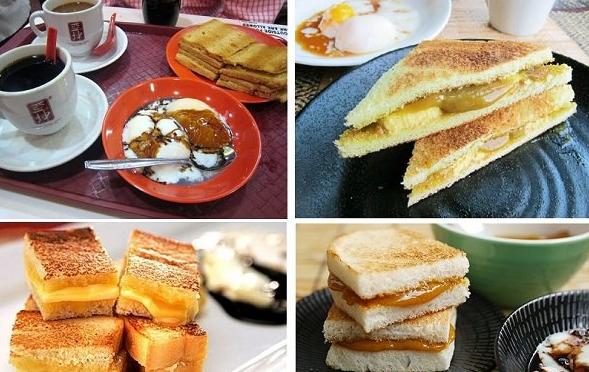 Có nhiều lựa chọn khác nhau để bạn có thể thưởng thức Kaya Toast