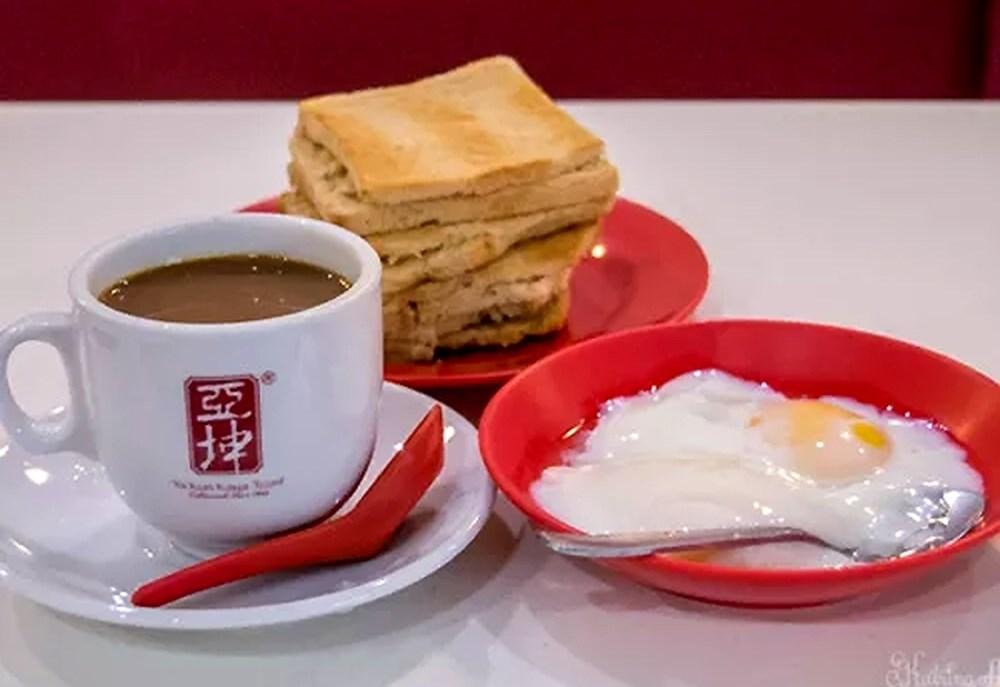 Kaya Toast vốn là món ăn do những người Hải Nam sáng tạo ra