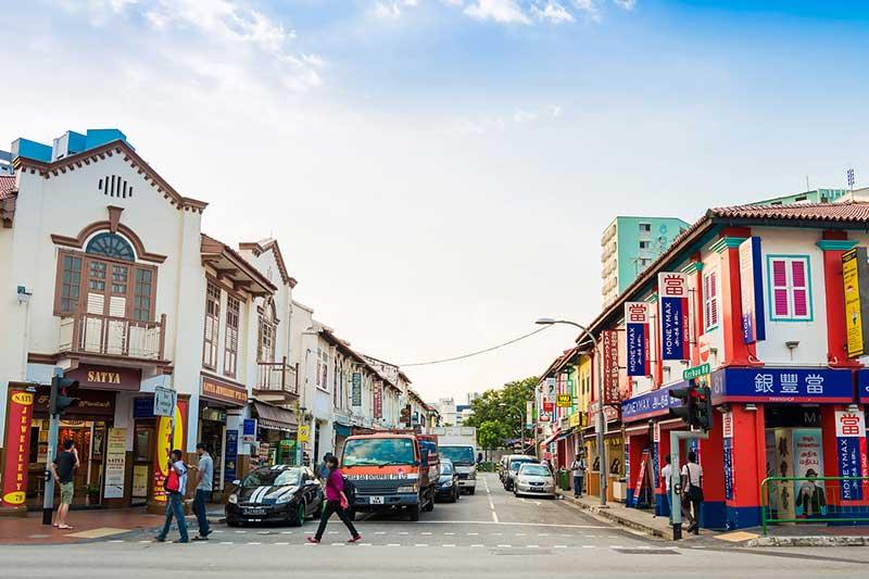 Một góc của khu phố Little India