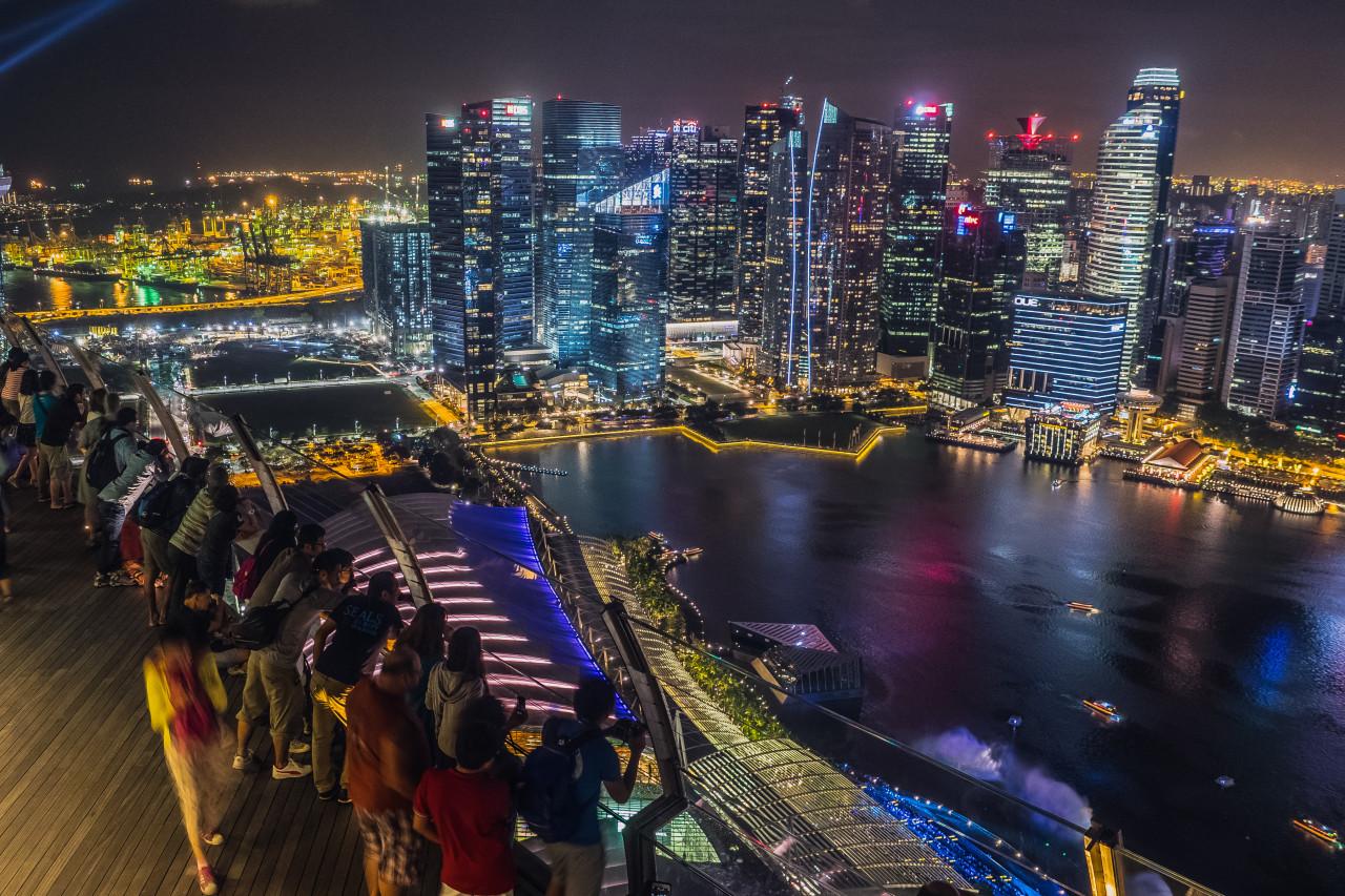 Ngắm nhìn Skypark nhìn từ trên cao là một trải nghiệm tuyệt vời!