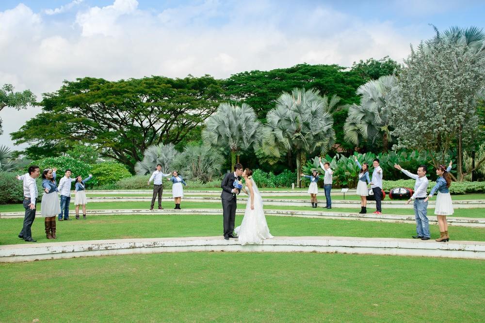 Công viên Hort Park đẹp đến nỗi rất nhiều cặp tình nhân đến đây để chụp hình cưới!