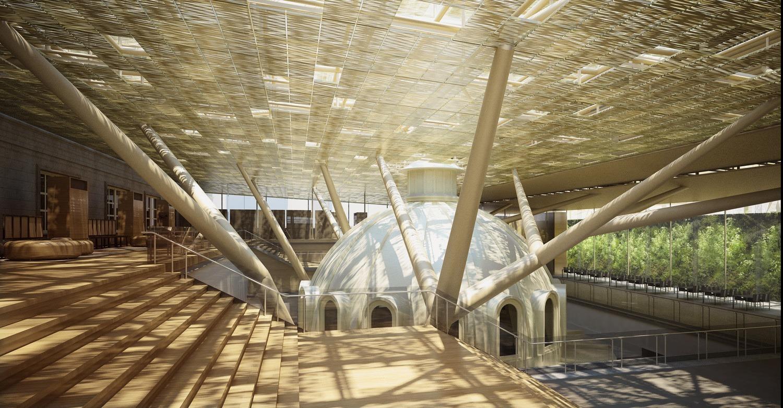 Kiến trúc mang đậm hơi thở nghệ thuật của National Gallery