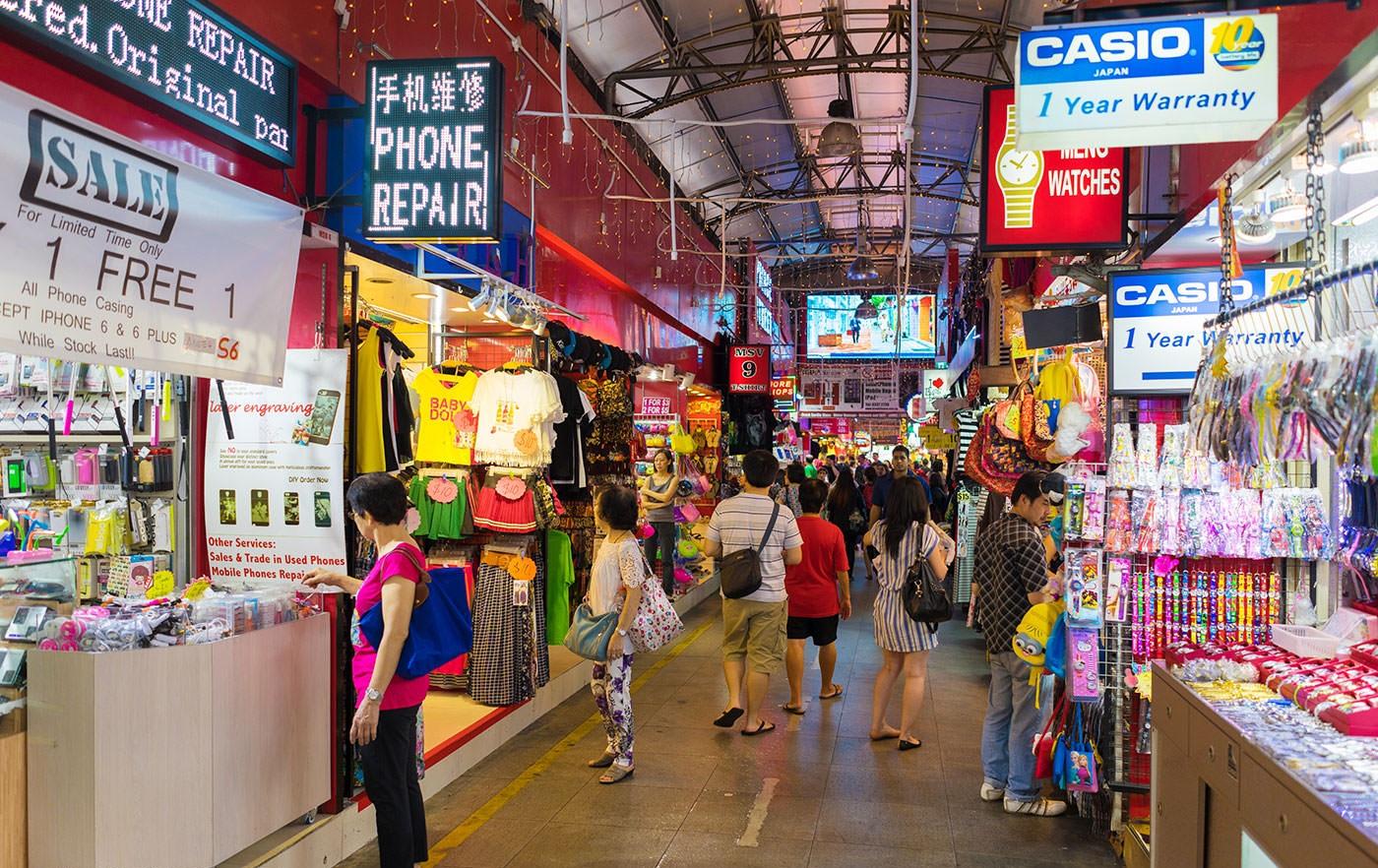 "Bugis - Nơi để ""mua cả Singapore"""
