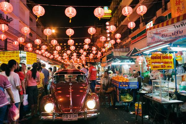 China Town lúc nào cũng đông đúc và nhộn nhịp