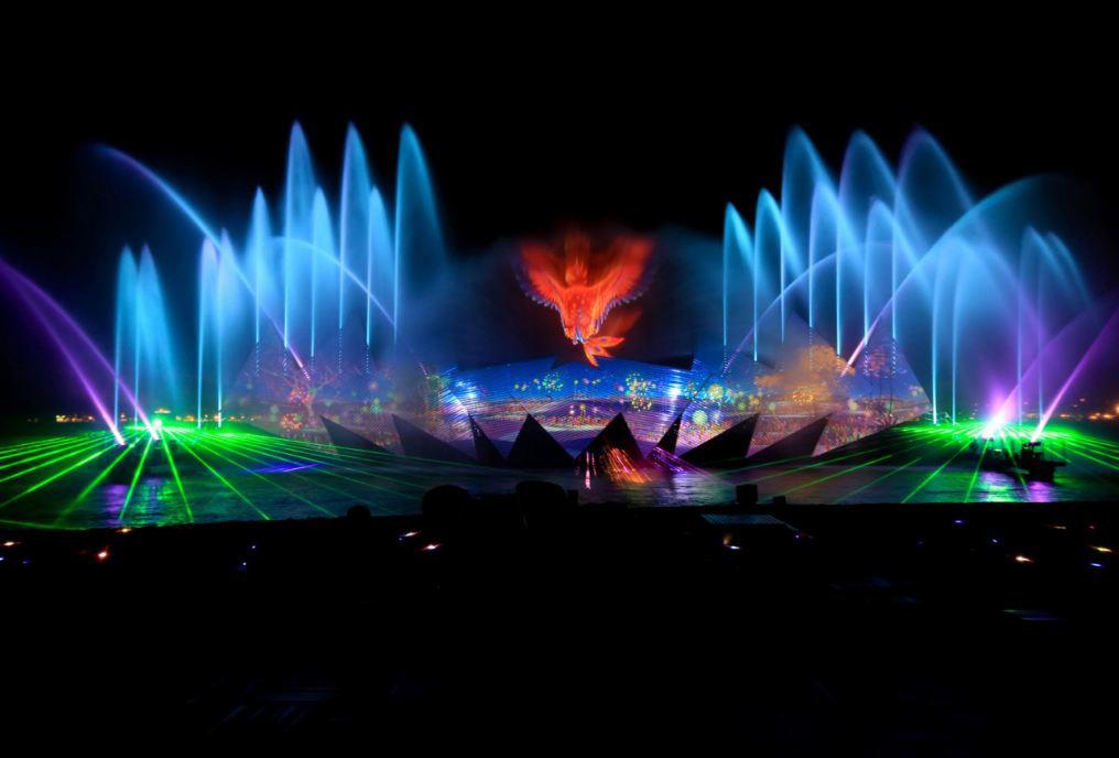 Wings of time - Sự kết hợp hoàn hảo của nước - ánh sáng laser - âm nhạc - hình ảnh 3D