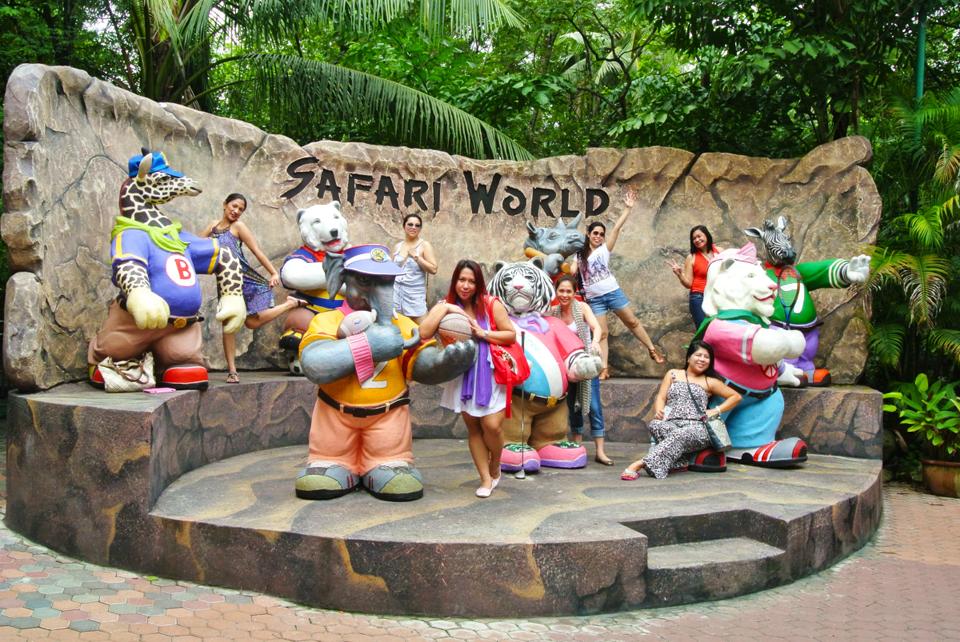 Safari World là vườn thú lộ thiên lớn nhất Đông Nam Á