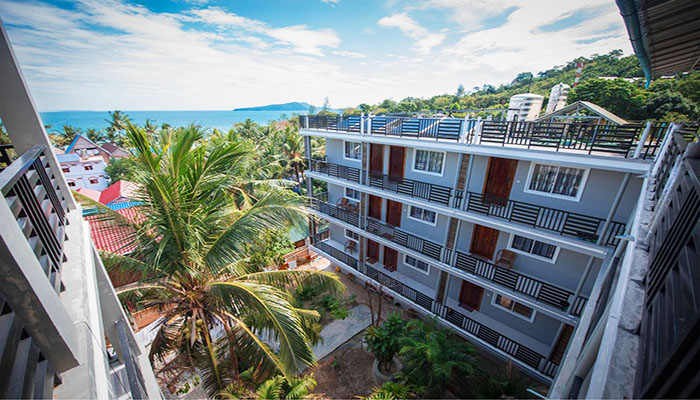 Thiết kế hiện đại là nét đặc trưng của Coco Boutique Resort.