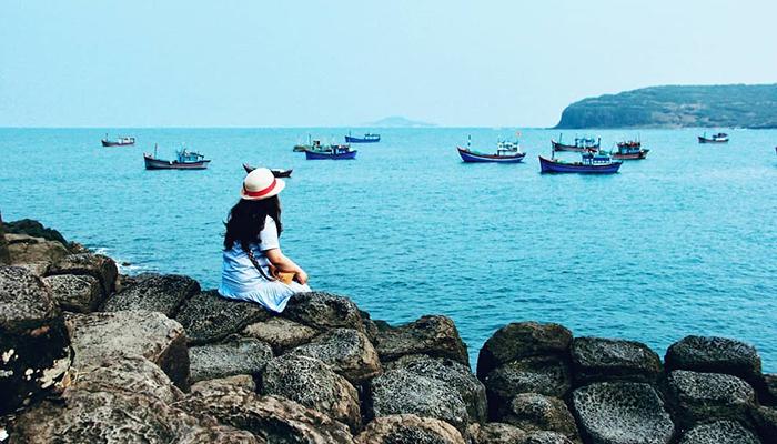 Ngư dân đánh cá xem nơi này là một bãi đậu thuyền.