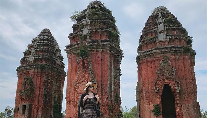 Thám Chăm-pa cao nhất tại Việt Nam.