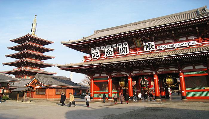 Hãy dành một ngày để khám phá hết những di tích lịch sử của Tokyo để hiểu thêm về con người xứ hoa anh đào. Nguồn: wikimedia.org
