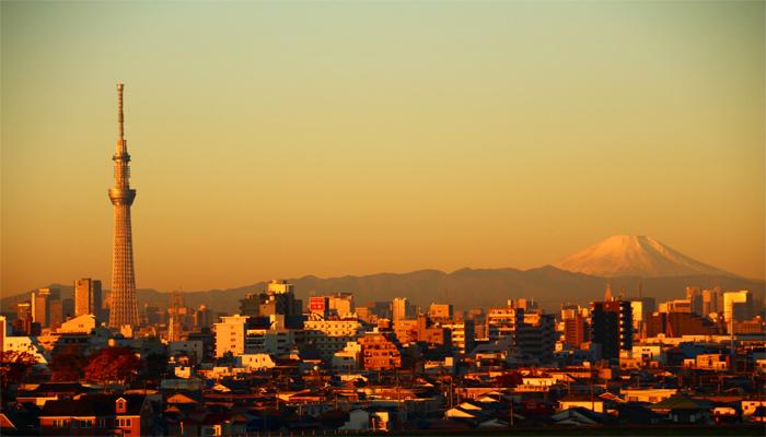Đây là địa điểm cho bạn tầm nhìn ngang với núi Phú Sĩ. (Nguồn: JWwebmagazine.com)