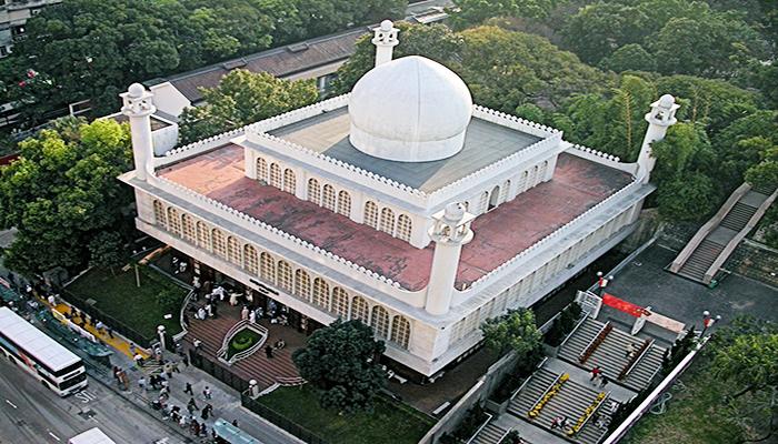 Kowloon Masjid and Islamic Centre - Trung tâm Hồi giáo Cửu Long. Đây cũng là một công trình kiến trúc ấn tượng tại Hong Kong. Nguồn: wikimedia.org