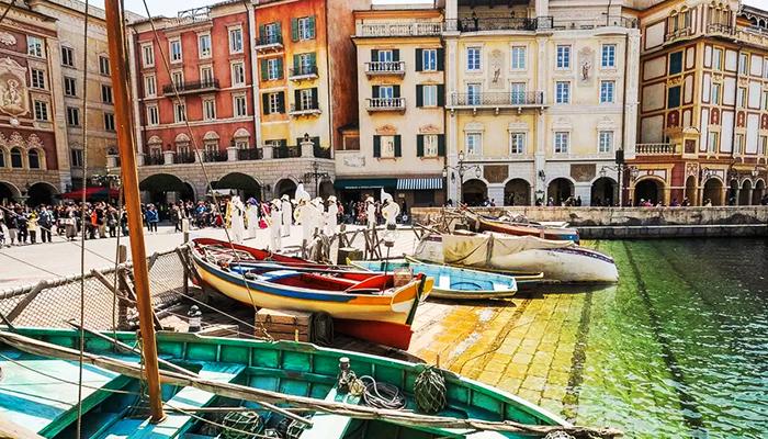 Italia thu nhỏ đầy lãng mạn của Tokyo. (Nguồn: disneyavenue.com)