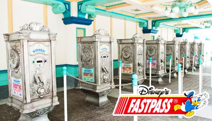 Máy đổi vé Fastpass tại các địa điểm của Disneyland. (Nguồn: tokyodisneyresort.jp)