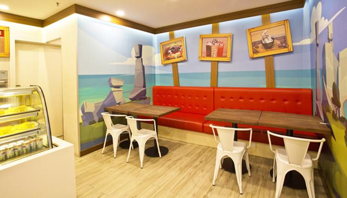 Snack Bar Cafe - nơi dành cho gia đình ngồi lại thư giãn, nghỉ ngơi.