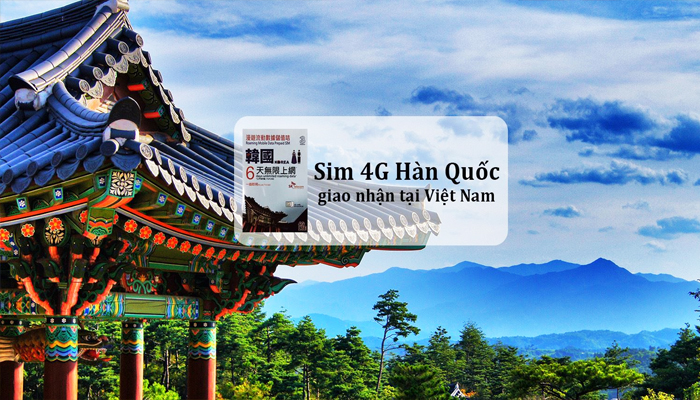 Mua Sim Hàn Quốc tưởng chừng như khó khăn nhưng lại vô cùng dễ dàng vì bạn đã có thể mua ngay tại Việt Nam.
