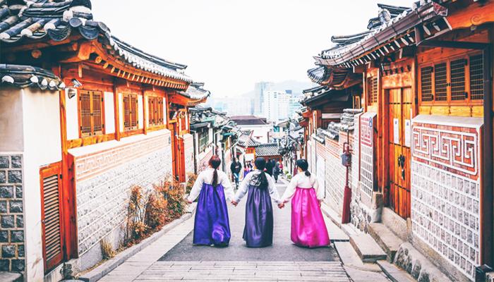 Với thủ tục không quá phức tạp và lệ phí cũng không quá mắc, giờ đây cánh cửa khám phá Hàn Quốc đã không còn xa. Nguồn: tounhathan