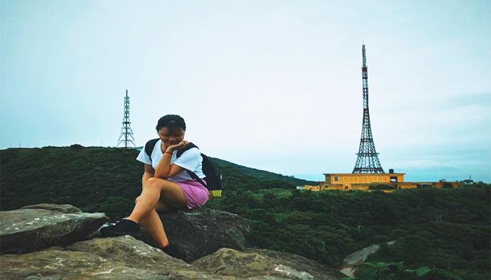 Một góc hình vi diệu khác khi chinh phục đỉnh Bàn Cờ. (Nguồn: decembery612@ins)