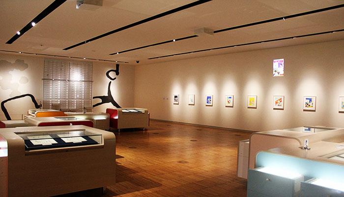 Khu trung bày những tác phẩm đầu tiên của cố họa sĩ Fujimoto. Nguồn: tofugo.com