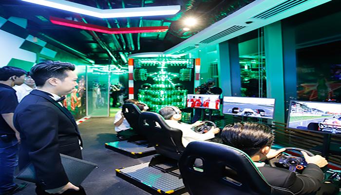 Khu vực trò chơi chắn hẳn sẽ là nơi dành cho những bạn mê tốc độ và thể thao. Nguồn: www.bitexcofinancialtower.com
