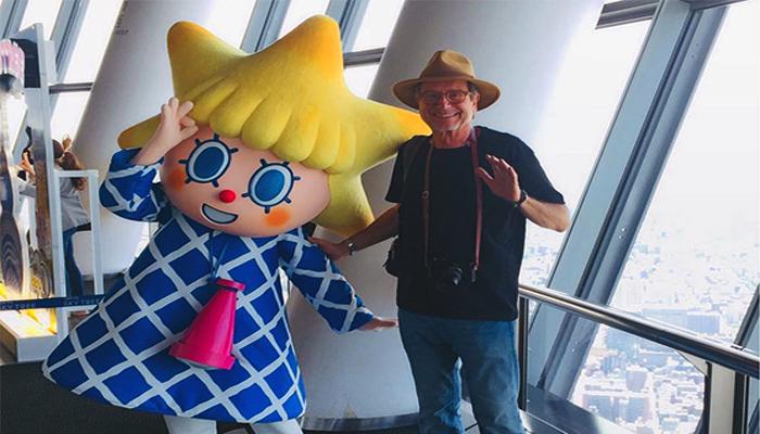 Sarakura chan là linh vật nổi tiếng của Tokyo Skytree (Nguồn: macioscavone@ins)