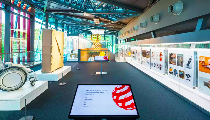 """""""A Preview of the Future - Red Dot Award: Design Concept"""" là chủ đề đang được trưng bày ở bảo tàng."""