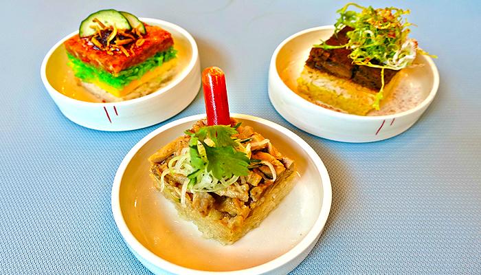 Mỗi khẩu phần ăn luôn mang một màu sắc và thiết kế riêng.