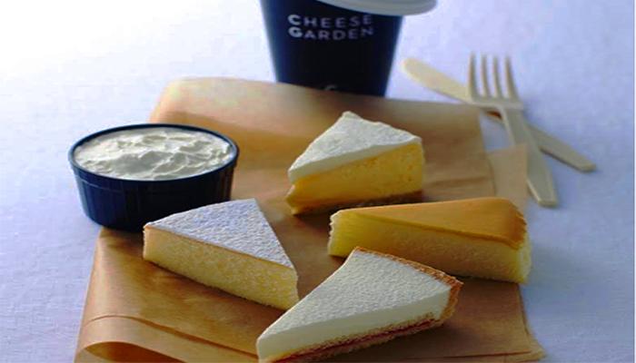 Món Tokyo White Pure Cheese cake trứ danh của nhà hàng Cheese Garden. (Nguồn: rejumo.com)