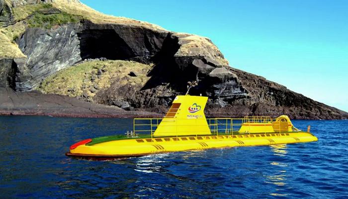 Tàu ngầm là trải nghiệm bạn chỉ có thể thử ở Udo.