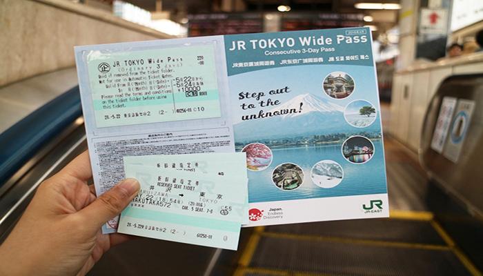 Thẻ JR Pass được nhiều du khách chọn sử dụng để di chuyển trong thành phố vì tính tiện lợi. Nguồn: www.japan555.com