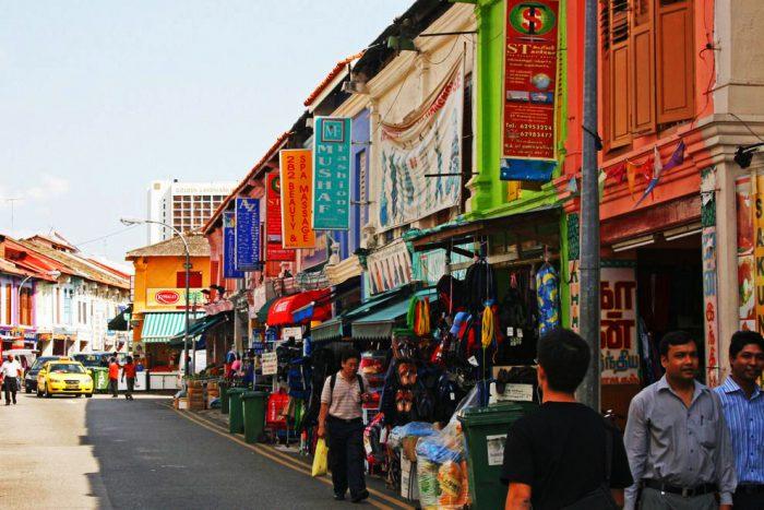 Những con phố rất Án tại Singapore. (Nguồn: 10best)