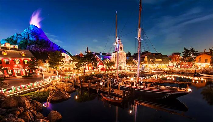 Tokyo Disneysea lấy cảm hứng từ những câu chuyện huyền thoại biển khơi.