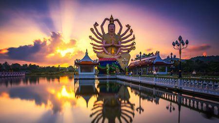 Hình đại điện của danh mục Wat Plai Laem - Đền Plai Laem