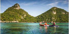 Hình của Tour lặn biển tại công viên Anthong Marine Park bằng tàu