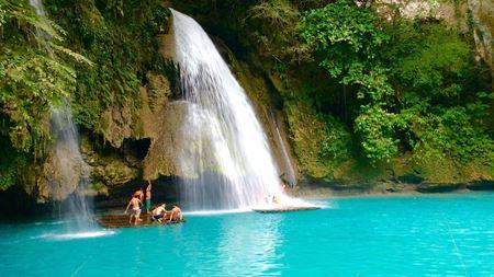 Hình đại điện của danh mục Kawasan Waterfalls - thác nước Kawasan