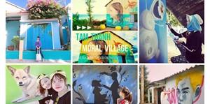 Hình của Tour làng bích họa Tam Thanh – biển An Bàng - Hội An 1 ngày