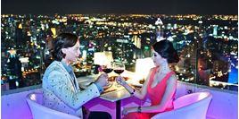 Hình của Buffet nhà hàng Bangkok Balcony Baiyoke Sky tầng 81