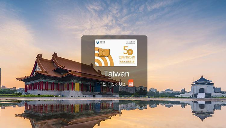 SIM 4G Đài Bắc giá rẻ