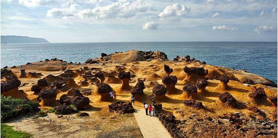 """Kết quả hình ảnh cho Công viên địa chất Dã Liễu (Yehliu Geopark)"""""""