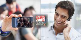 Hình của SIM 4G Malaysia - nhận tại sân bay Kuala Lumpur