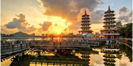 Tour Lotus Pond Kaohsiung (Đầm Liên Trì Cao Hùng) giá rẻ