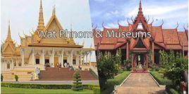 Hình của Tour Wat Phnom và các bảo tàng Phnom Penh