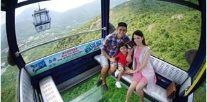 Hình của Vé Ngong Ping 360 (cabin đáy kính)