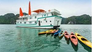 Hình của Tour Hạ Long bằng thủy phi cơ Hải Âu - Du thuyền Ameraude/L'azalée 2N1D - Khởi hành từ Hà Nội (1 chiều thủy phi cơ- 1 chiều bus)