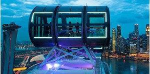 Hình của Vé Singapore Flyer (đêm) + Singapore River Cruise + Funvee Bus