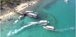 Hình của Thuê cano tham quan vịnh Nha Trang - hồ cá Trí Nguyên, Bãi Tranh, Hòn Mun, Hòn Một