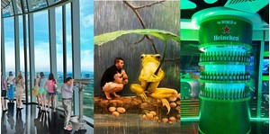Hình của Combo Art in us  Saigon Skydeck  World Of Heineken